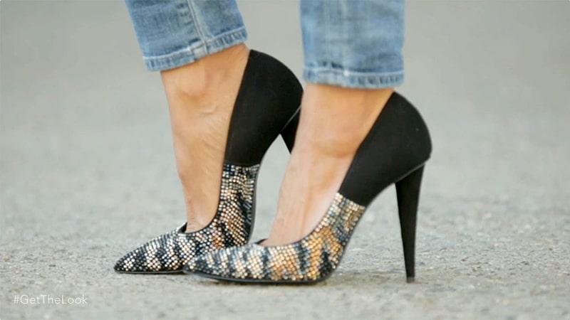 Cách mang giày giúp giảm tác hại của giày cao gót