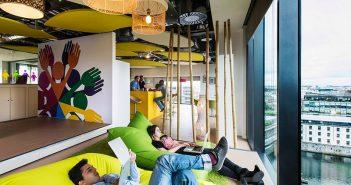 Phòng ngủ trưa của các công ty lớn trên thế giới có gì đặc biệt?