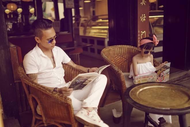 Bộ ảnh tuyệt đẹp của ông bố đơn thân với con gái