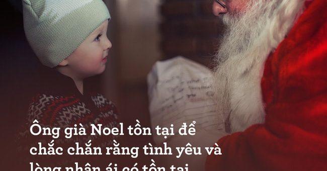 Ông già Noel là có thật và bức thư của một cô bé