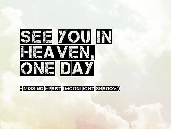 Gặp lại anh trên thiên đường!!!