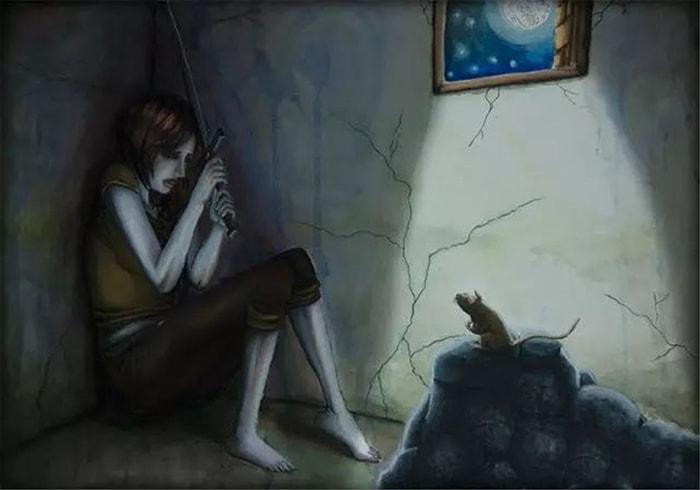 Sợ chuột là 1 nỗi sợ hãi phổ biến nhất thế giới