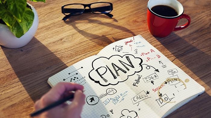 Vẽ ra 1 kế hoạch để đi đến ước mơ