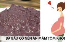 Bà bầu có nên ăn mắm tôm không? 1
