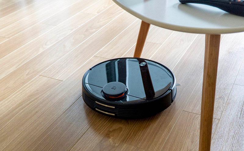 Robot hút bụi dừng đột ngột khi chạy