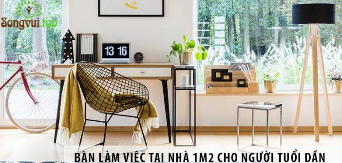 Mua bàn làm việc tại nhà 1m2 giá rẻ cho người tuổi Dần