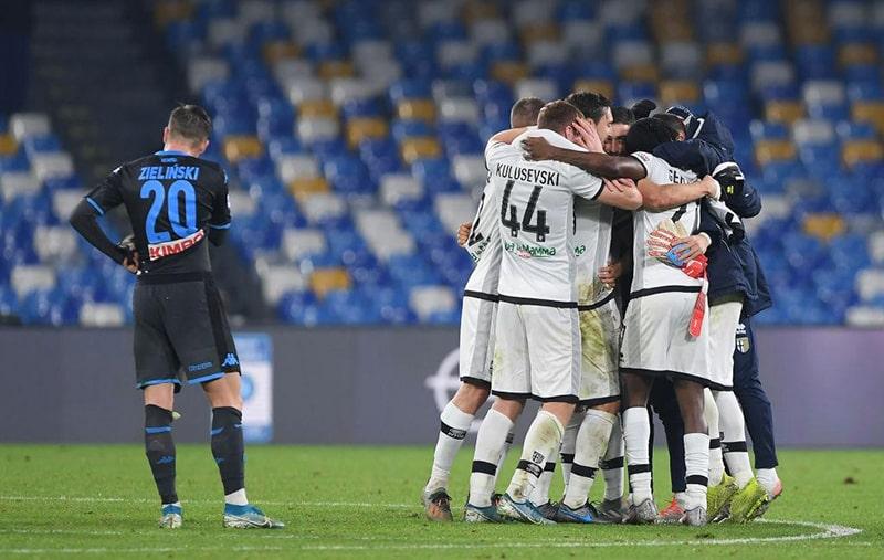 Nhận định kết quả: Parma vs Napoli, 0h30 ngày 23/07 giải Serie A