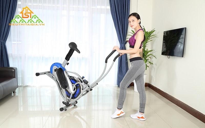 Máy tập thể dục đạp xe của sieuthitaigia.vn được đánh giá cao
