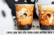 Cách làm trà sữa trân châu đường đen tại nhà